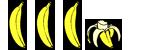 Three and a half bananas